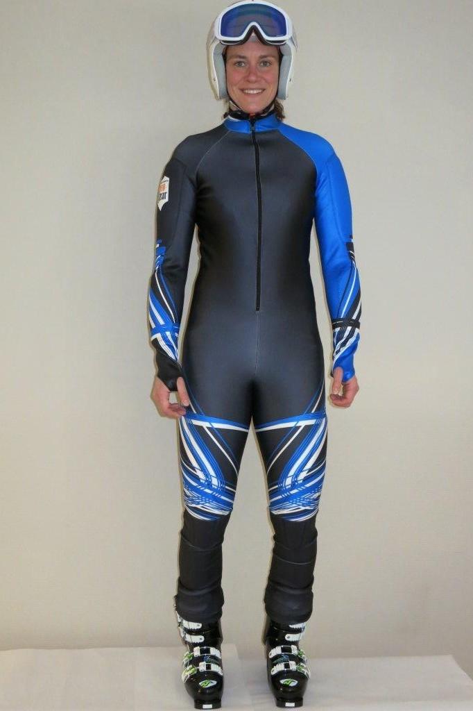 Pro gear fartdräkt svart/blå