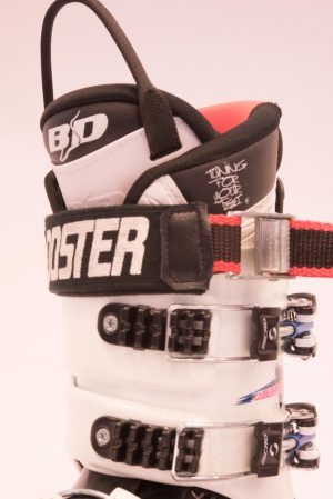 Booster strap monterad