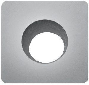 Skärblad square till Sidewall cutter