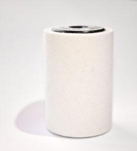 Roterande borste filt