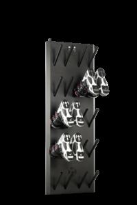 Väggmonterad pjäxtork 10 par QBL Supreme Hybrid 10B